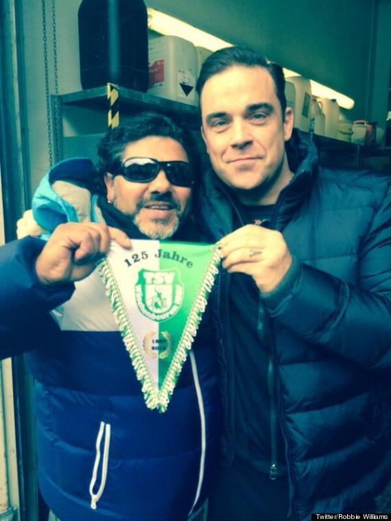 robbie williams maradona