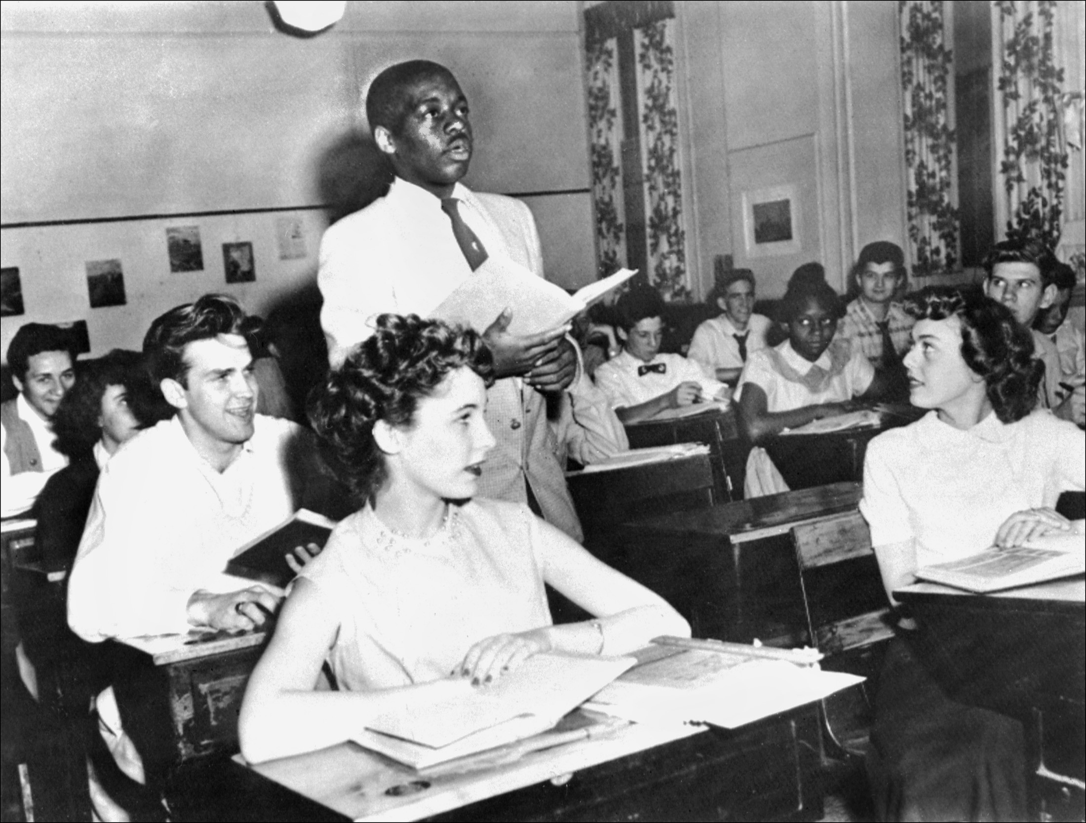 "the american segregation that was a bitter part of american history World war ii marked a watershed moment in african-american history  for  african americans to defend their country, though discrimination and segregation   noting that the colonial power failed ""due in part to its own discriminations""  against  the ""psychological attitude"" of ""great bitterness"" felt by african  americans who."