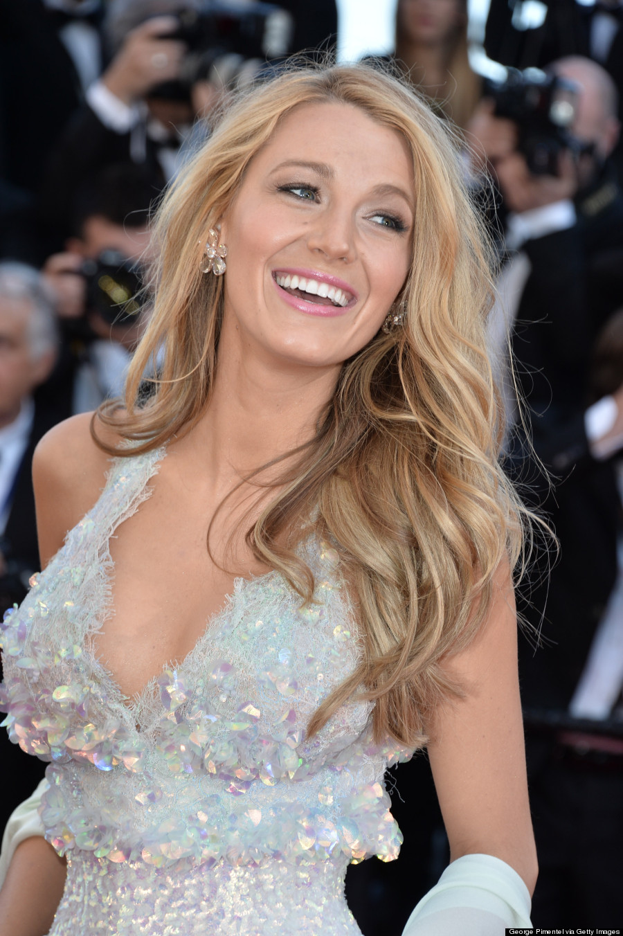 Blake Lively Rocks Chanel Illusion Dress At 2014 Cannes (PHOTOS) Blake Lively