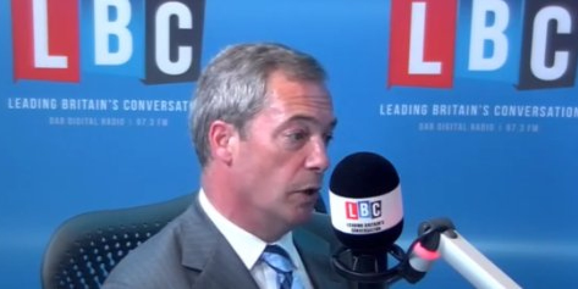 Watch The Most Difficult Interview Nigel Farage Has Had All Year