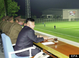 Kim Jong Un Enjoys An Evening At The Football (PICTURE)