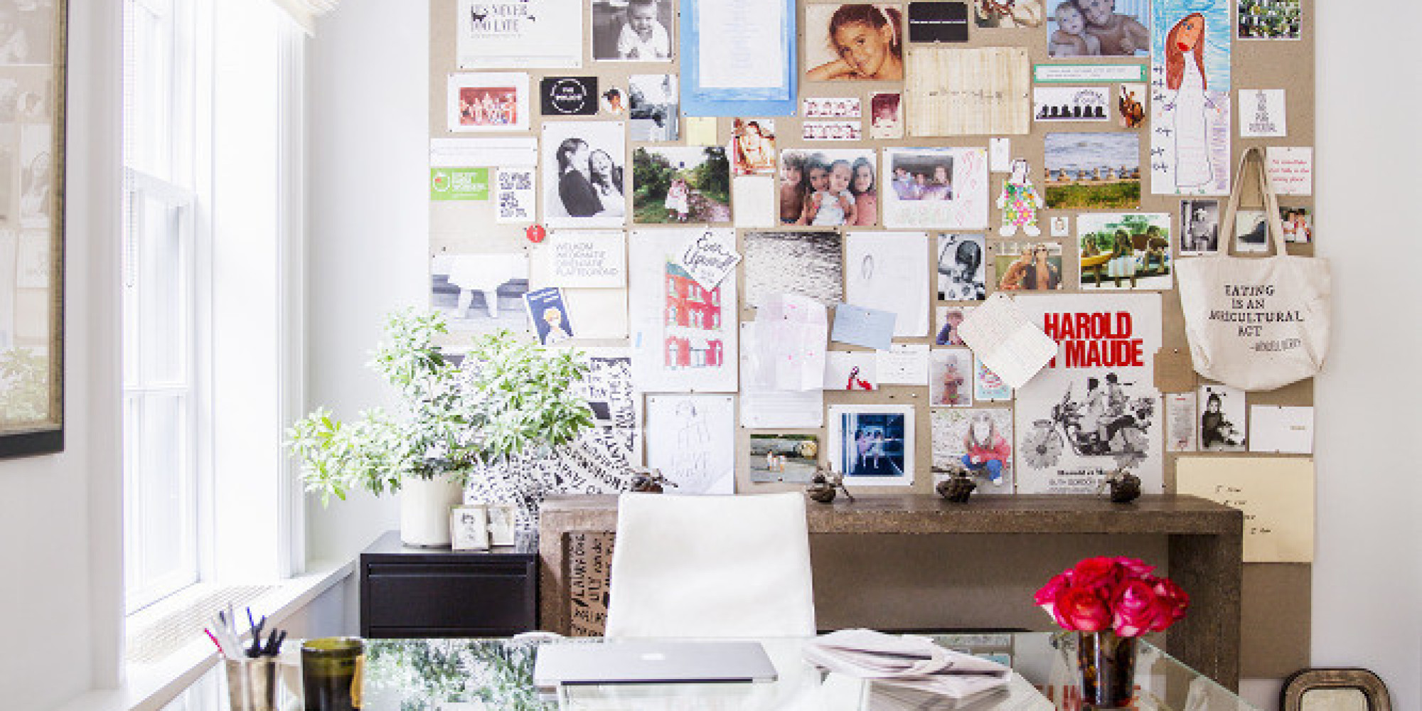 14 blank wall ideas you haven 39 t thought of photos huffpost ForWhat To Do With A Blank Wall
