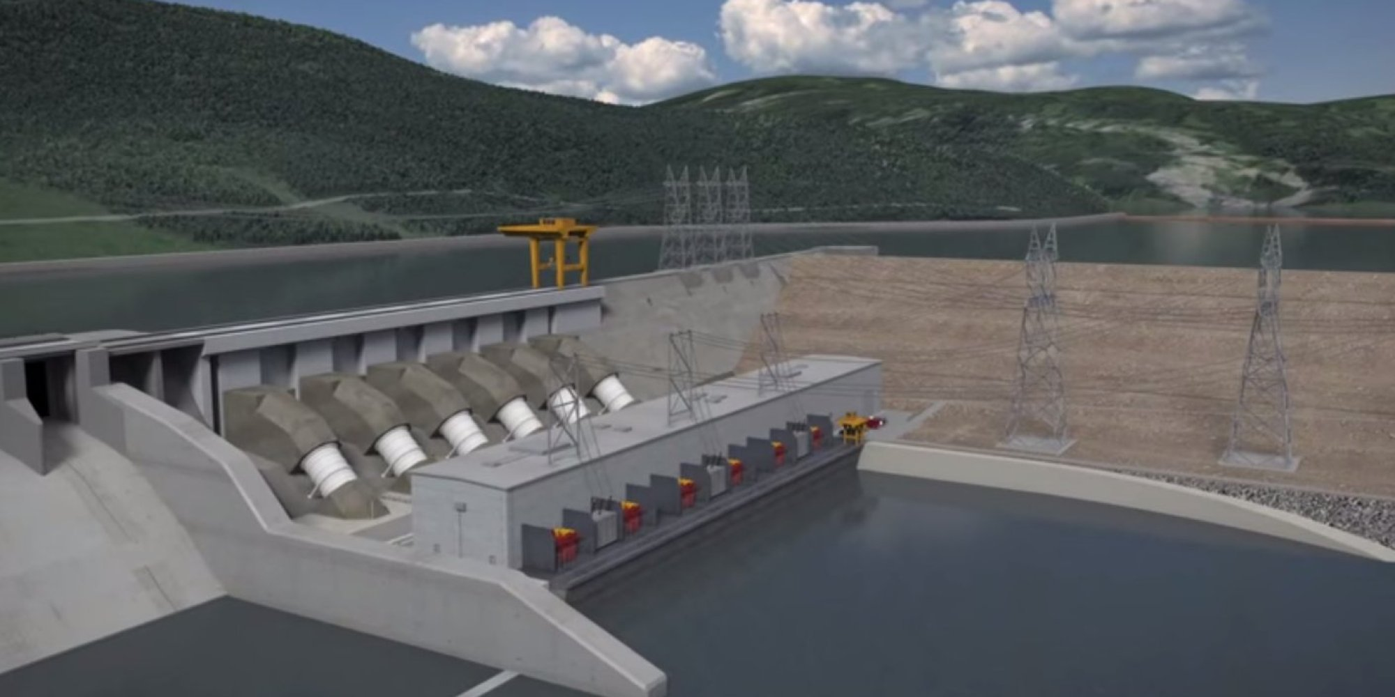 Site C Dam Project Approved By B C Liberals