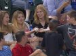 Smooth Kid Pulls Foul Ball Switch, Still Manages To Look Good With The Ladies (VIDEO)