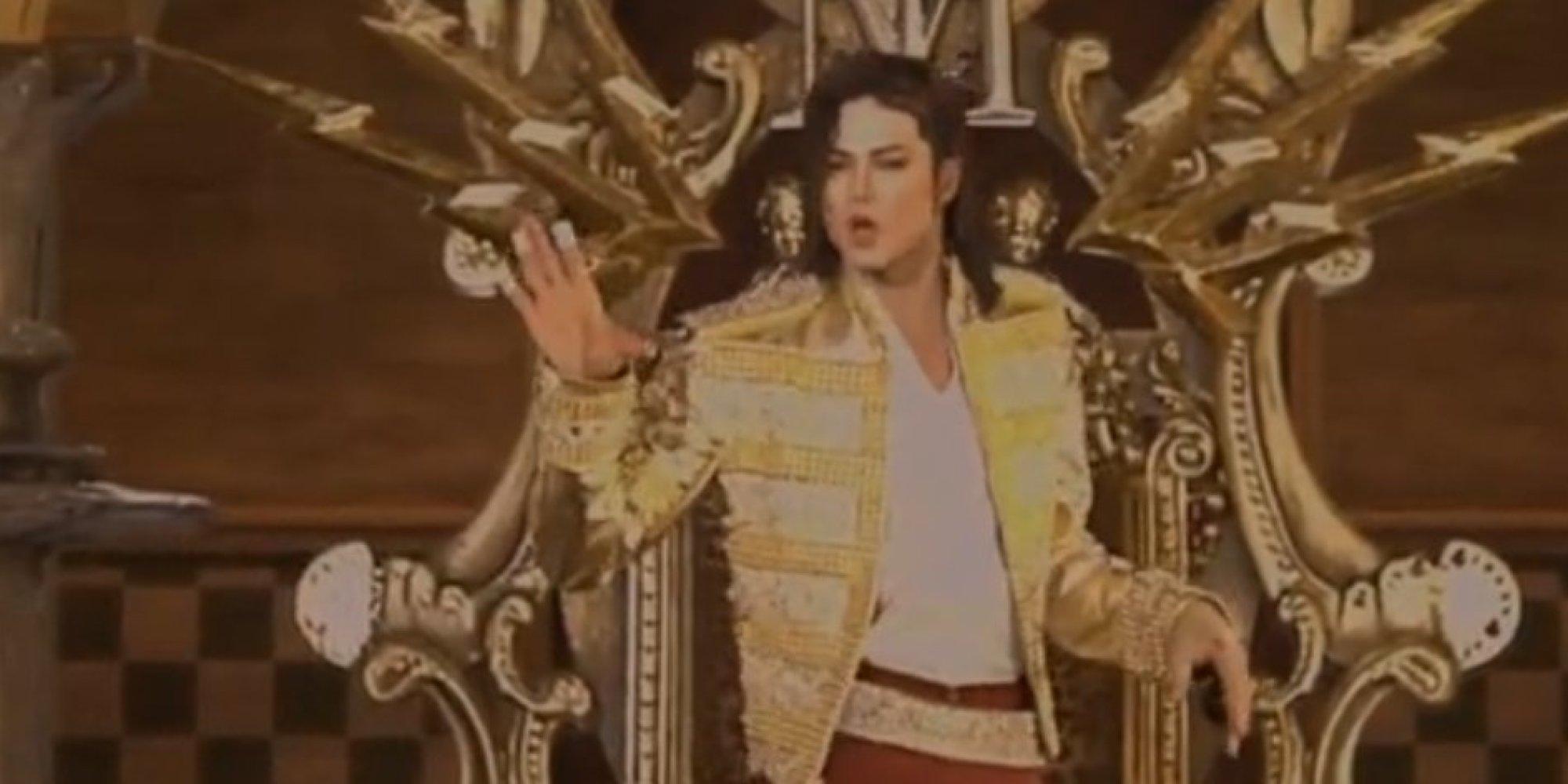 Michael Jackson S Hologram Appeared On The Billboard Music