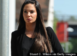 Tulisa And Her New Face Arrive At Court