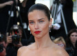 Adriana Lima's Nude Dress Turns Heads At Cannes Film Festival