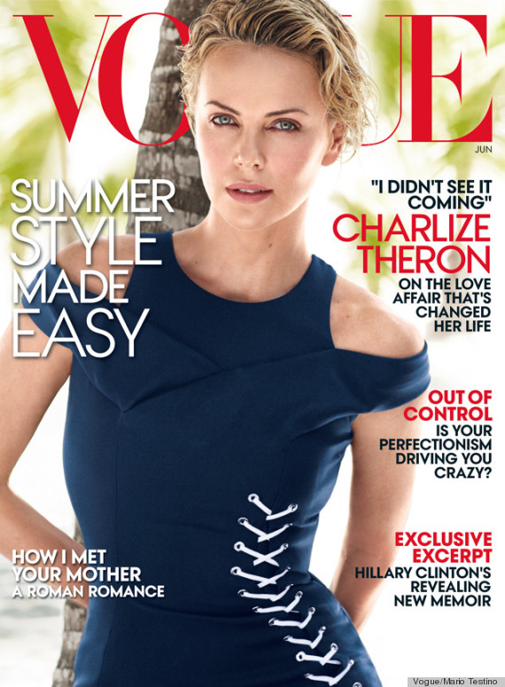 charlize theron vogue