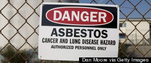 WARNING ASBESTOS