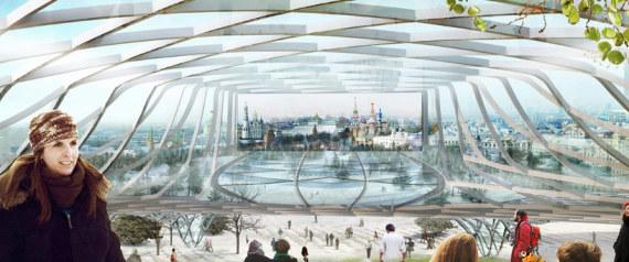 14 projets montrant l 39 architecture du futur for Architecture du futur
