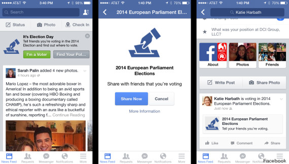 facebook vote europeennes