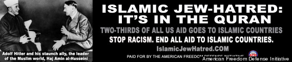 anti muslim ad
