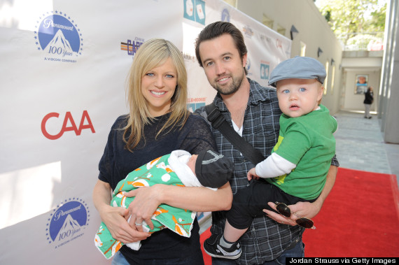 rob mcelhenney and kaitlin olson