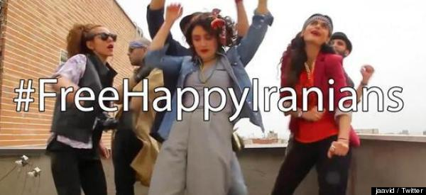 Young Iranians Sentenced To Lashes, Jail Time For 'Happy' Video