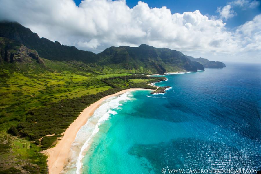 secluded beach - The Garden Island