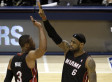 LeBron James & Dwyane Wade Spark Late Rally To Help Heat Tie Series (VIDEO)