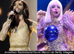 Conchita To Join Gaga On Tour?