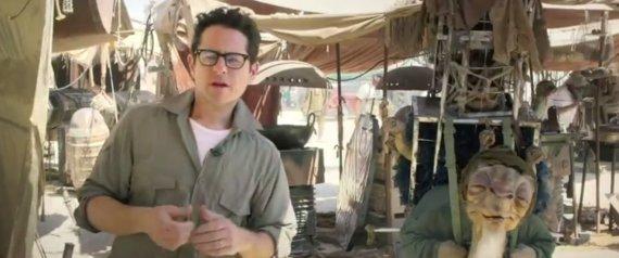 JJ ABRAMS STAR WARS VIDEO