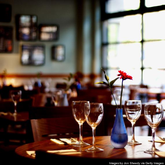 fancy restaurant