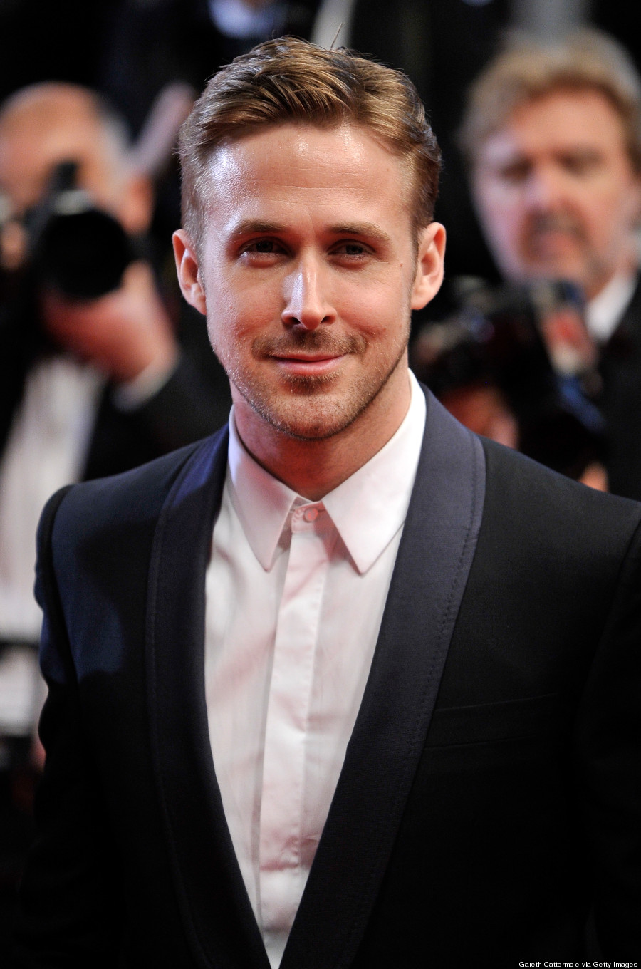 Ryan Gosling Christian Bale Steve Carell Cover New York: Ryan Gosling Uses Dapper Suit To Distract From Bad Cannes