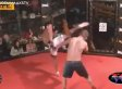 MMA Fighter Gives Up To Avoid Hurting His Opponent (VIDEO)