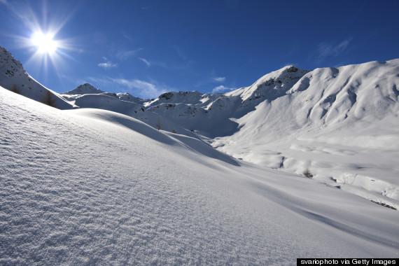 the alps glaciers