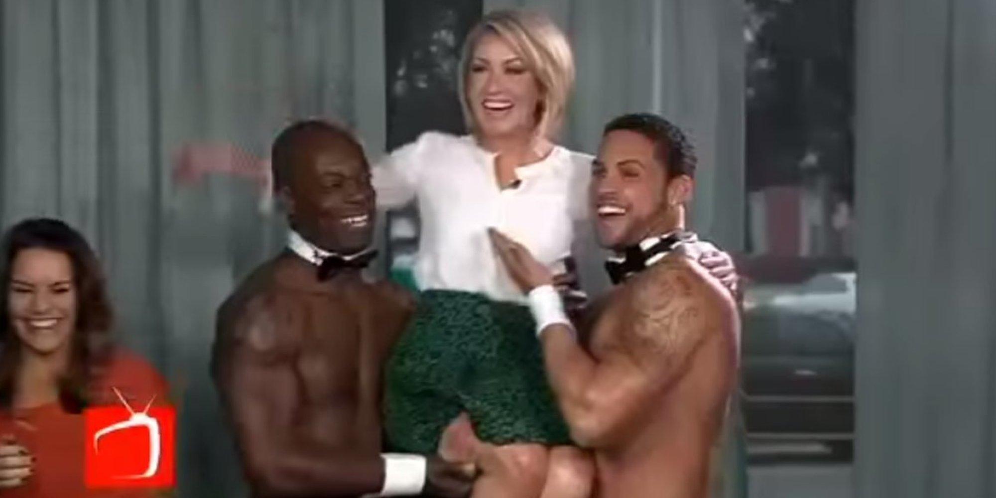 group of gay men sucking cock
