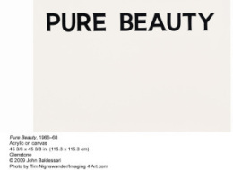 Baldessari Pure Beauty