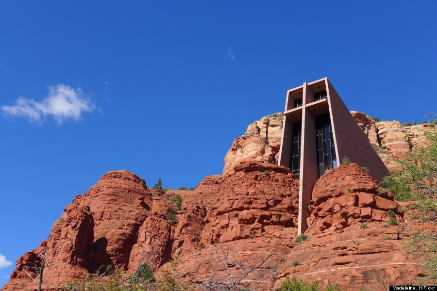 chapel of the holy cross arizona