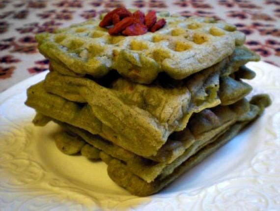green waffles