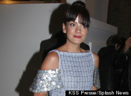 Lily Allen Works Glamourous Look In Cannes
