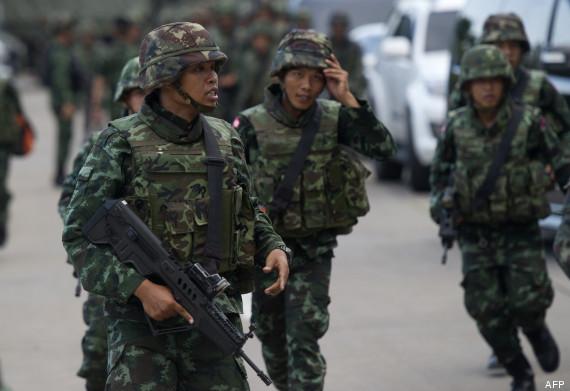 coup etat thaïlande