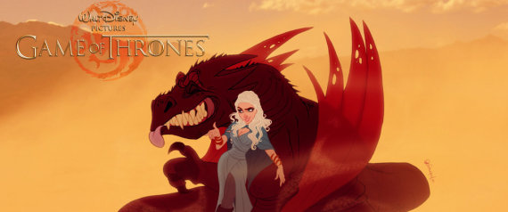 photos si game of thrones tait un disney. Black Bedroom Furniture Sets. Home Design Ideas