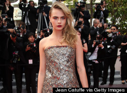 Cara Sparkles At Cannes