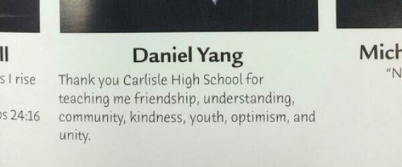 INAPPROPRIATE YEARBOOK QUOTES