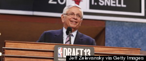DAVID STERN NBA DRAFT