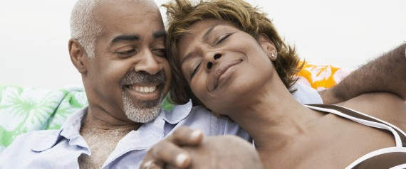 happy senior africanamerican couple