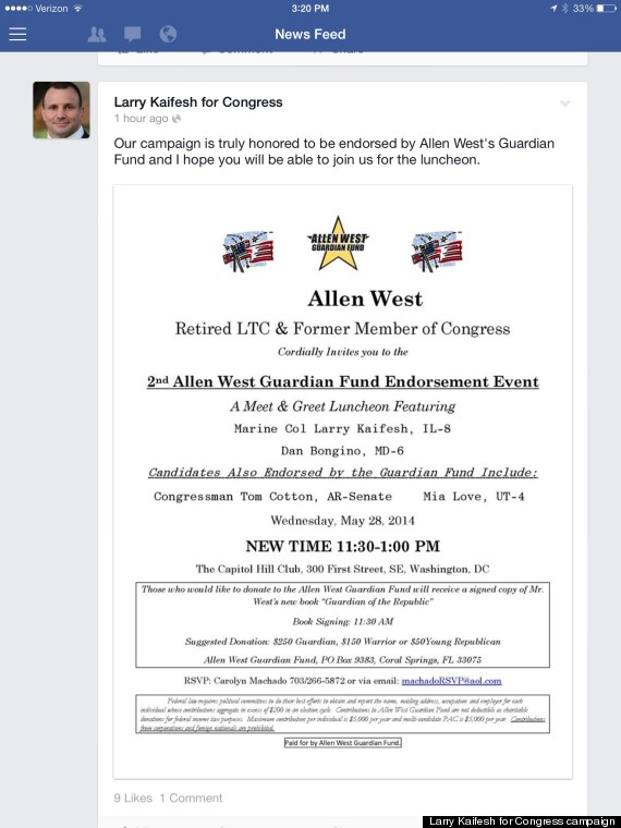 allen west tammy duckworth