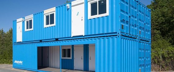 Luxury Shipping Container Rooms Unveiled For B C Lng