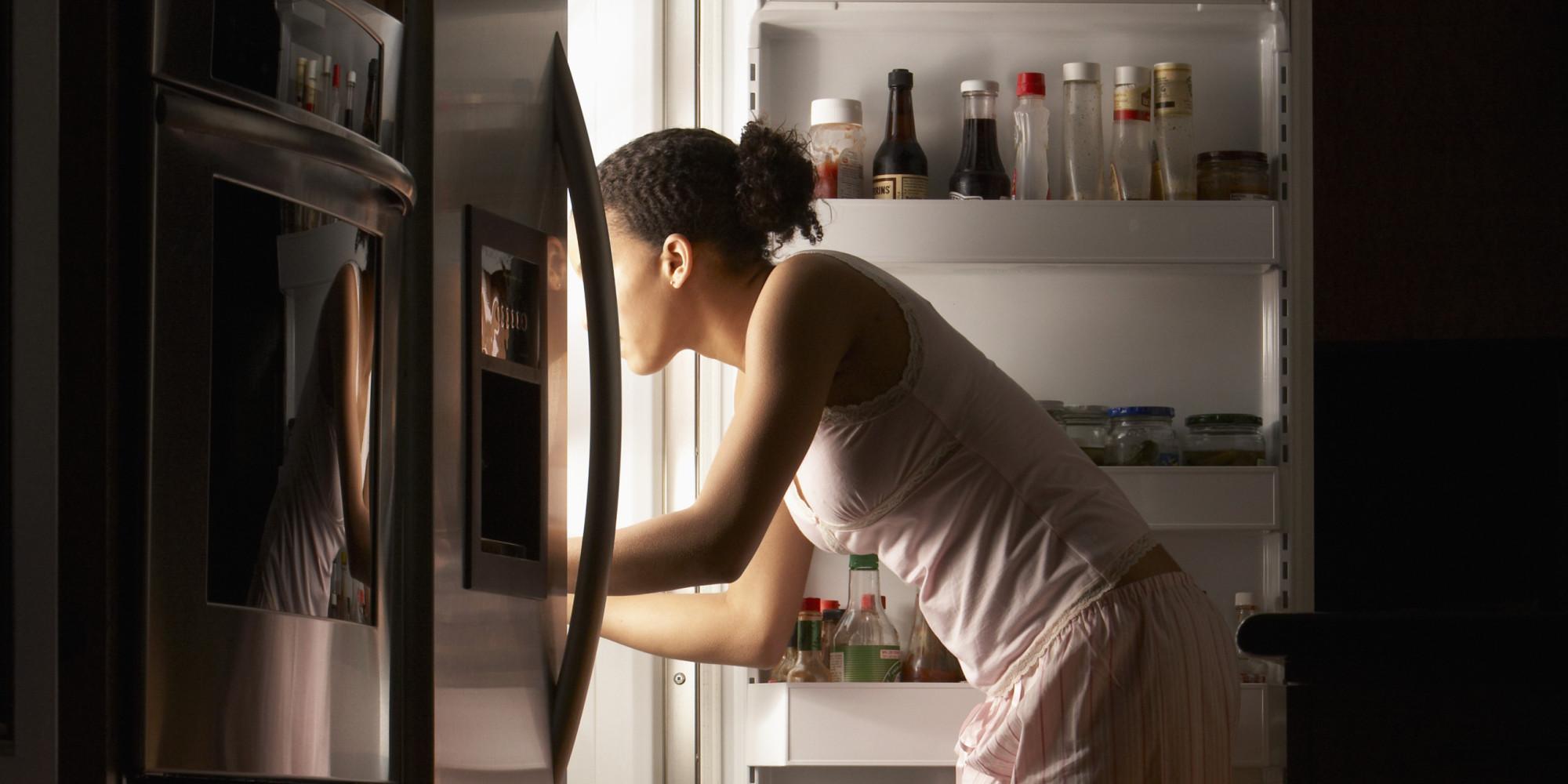 open refrigerator person. 5. minimize door openings open refrigerator person e