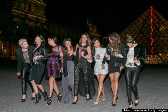 Kim Kardashian Celebrates Bachelorette Party In Glittering ...