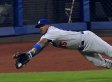Yasiel Puig Flies Like A Superhero But That Doesn't Mean He Won't Steal A Hit From Your Team (GIF)