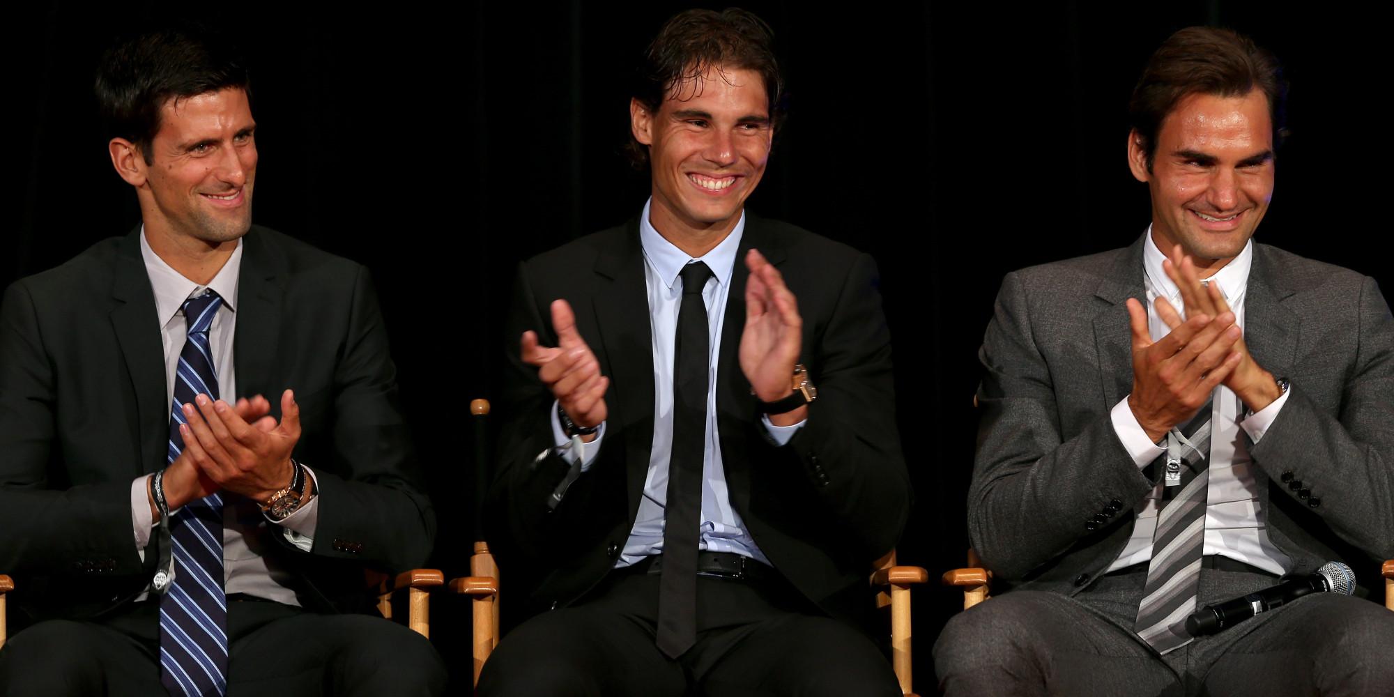 Federer vs Nadal vs Djokovic. Image Courtesy: HuffPost