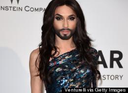 Conchita Wurst Dazzles At Cannes