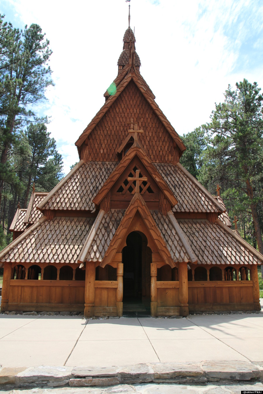 stave church south dakota