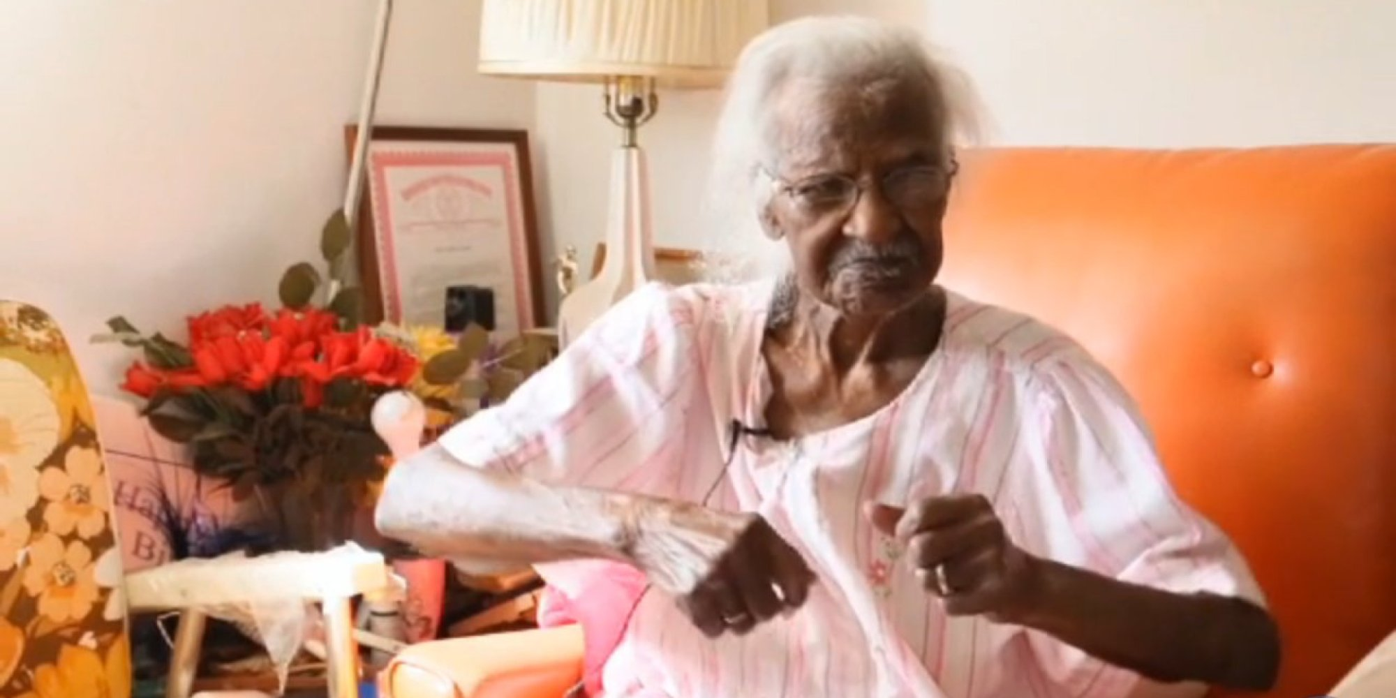 the oldest living american has some perfectly simple advice worth following huffpost. Black Bedroom Furniture Sets. Home Design Ideas