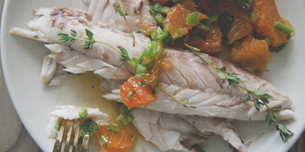 Kitchy Kitchen Recipe: Salt-roasted Fish With Spicy Orange Salsa ...