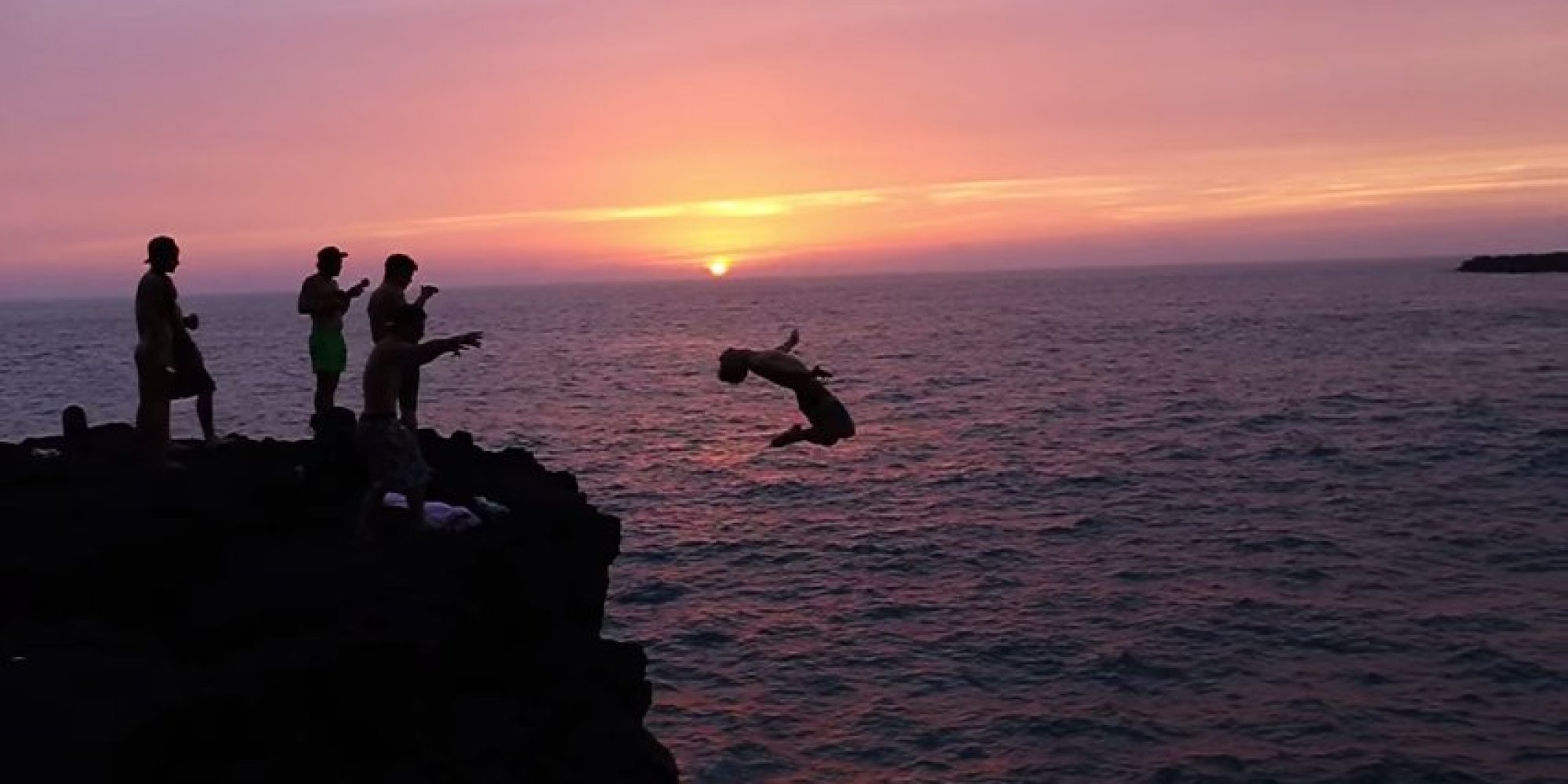 These insane cliff divers just upped the ante on summer - The cliff dive ...