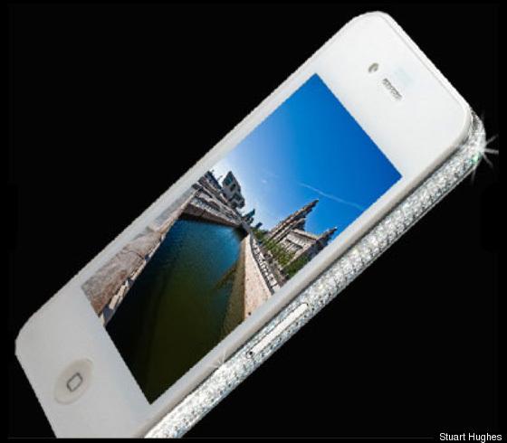 diamond encrusted iphone - photo #8