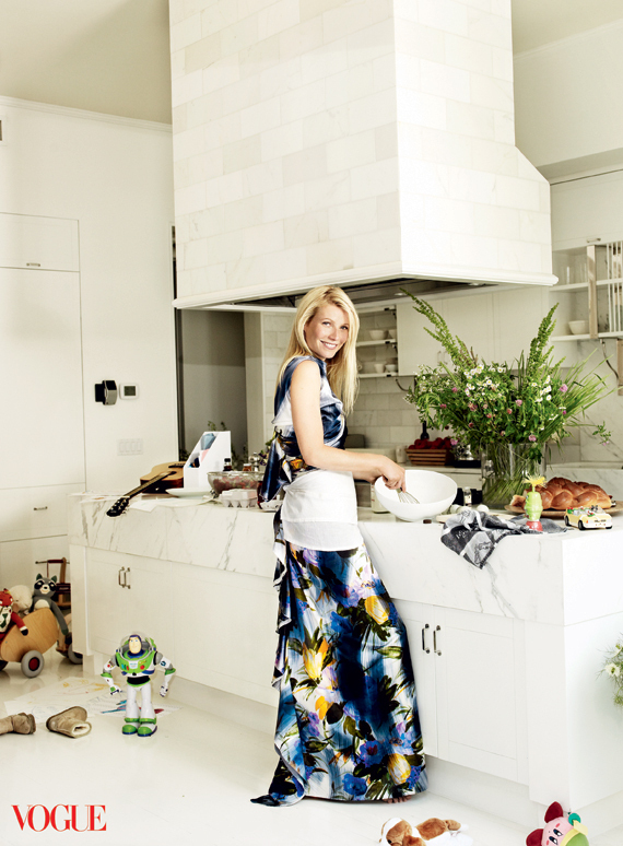 Most Interesting Vogue Article: Gwyneth Paltrow Can Cook ...